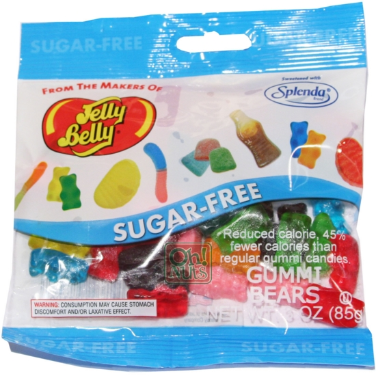 Gummy Bears by Jelly Belly 2.8 oz. bag Sugar Free
