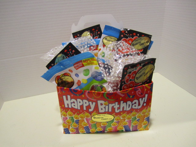 Kids Birthday Basket Sugar Free
