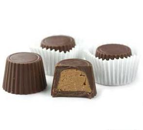 Mini Chocolate Peanut Butter cups Sugar Free