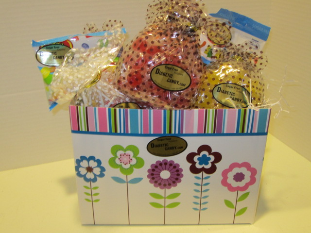 Sugar free mothers day gift ideas spring gift basket sugar free negle Choice Image