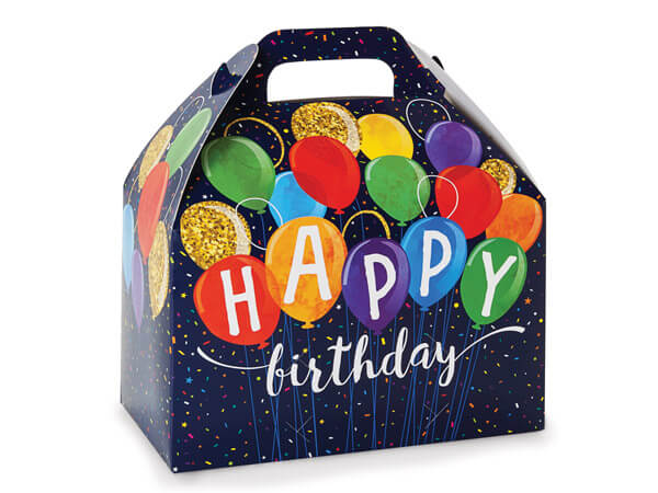 Happy Birthday Large Gift Box Sugar Free