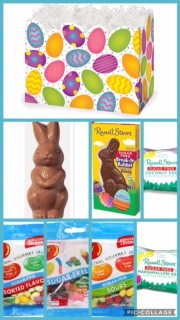 Sugar free easter gifts at diabetic candy happy easter bunny basket box sugar free negle Image collections