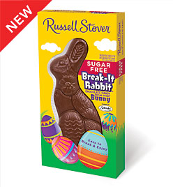Sugar free easter gifts at diabetic candy milk chocolate break it rabbit 45 oz russell stover sugar free negle Choice Image