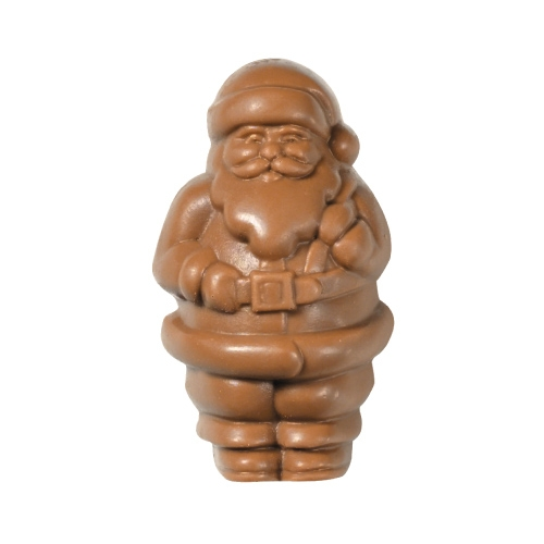 Sugar free holiday gifts at diabetic candy solid milk chocolate santa 2 oz sugar free negle Image collections