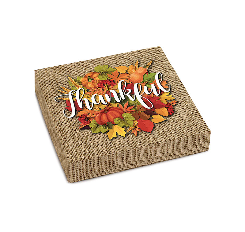 Thankful Gift Box with Assorted Sugar Free Chocolate