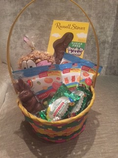 Sugar free easter gifts at diabetic candy easter bunny basket sugar free negle Images