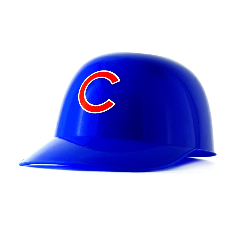 Chicago Cubs Mini Batting Helmet w/ 8 oz. of Sugar Free Gummies