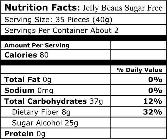 Jelly Beans by Jelly Belly Sugar Free