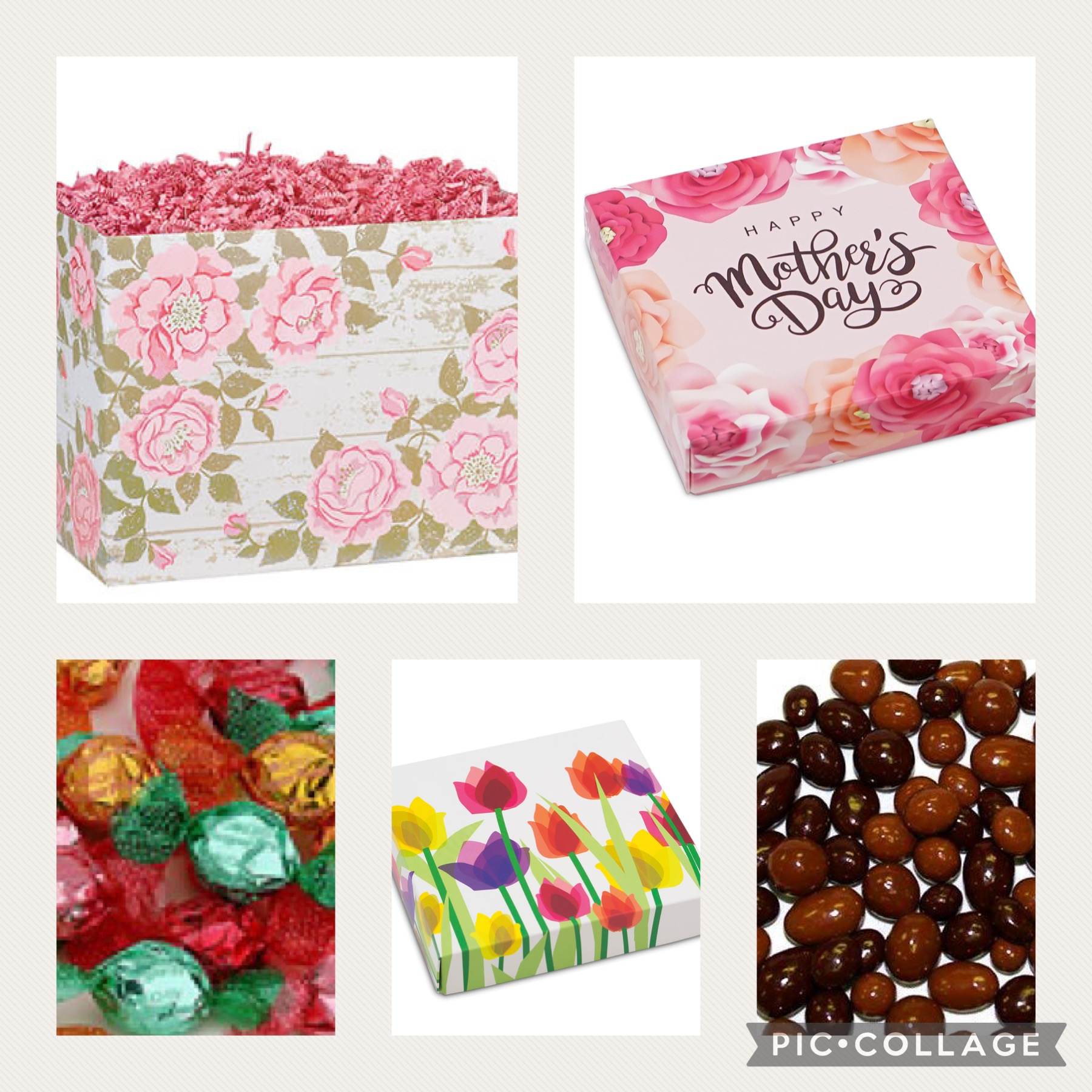 Happy Mother's Day gift basket sugar free