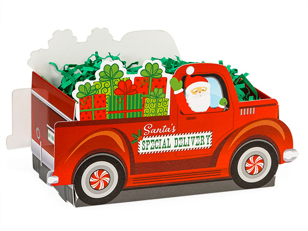 Sugar free holiday gifts at diabetic candy holiday christmas santa truck basket sugar free negle Image collections