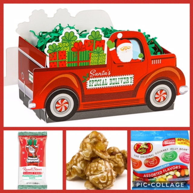 Sugar free holiday gifts at diabetic candy santas special delivery basket box sugar free negle Choice Image