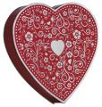 I Love You Heart - 1/2 pound box of Dark Cordial Cherries