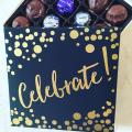 Celebrate Gift Box with Assorted Sugar Free Chocolate